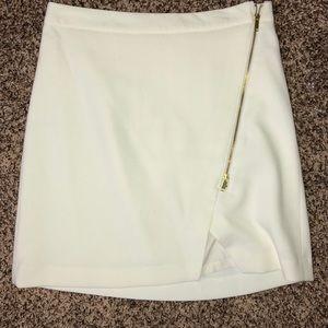 Off white/cream skirt.